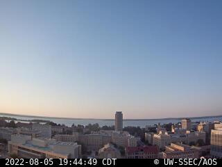 Latest north-facing rooftop camera image.