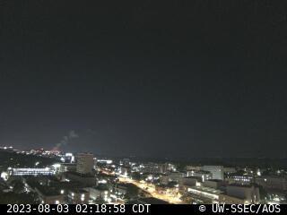 Latest northwest-facing rooftop camera image.