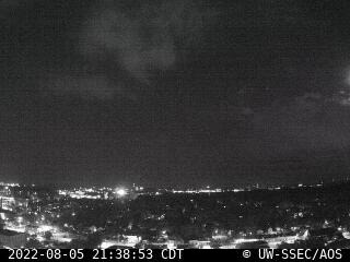 Latest south-facing rooftop camera image.